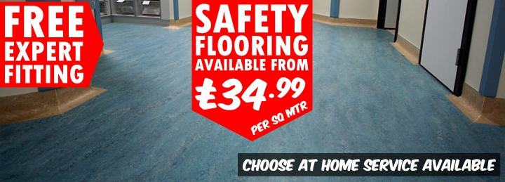 Safety Flooring at Surefit Carpets [area]