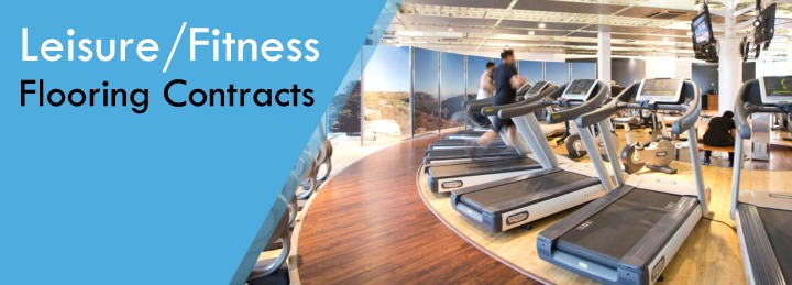 Leisure & Fitness flooring contracts at Surefit Carpets